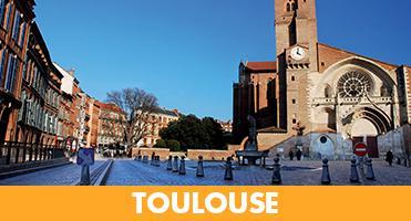Toulouse dans le top 5 des villes préférées des touristes